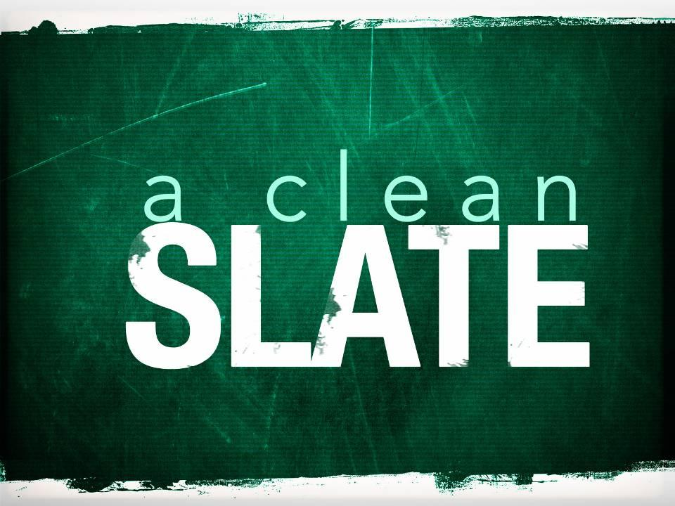 how to start a clean slate in a relationship